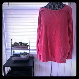 Jessica Simpson maternity sweatshirt